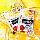 Вітаміни мультивітамін Multi Vitamin Daiso Японія, фото 2