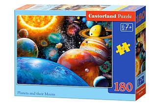 Пазлы Castorland Планеты и спутники 180 элементов
