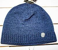 Зимняя  молодежная  шапка  р -50-52-54, фото 1
