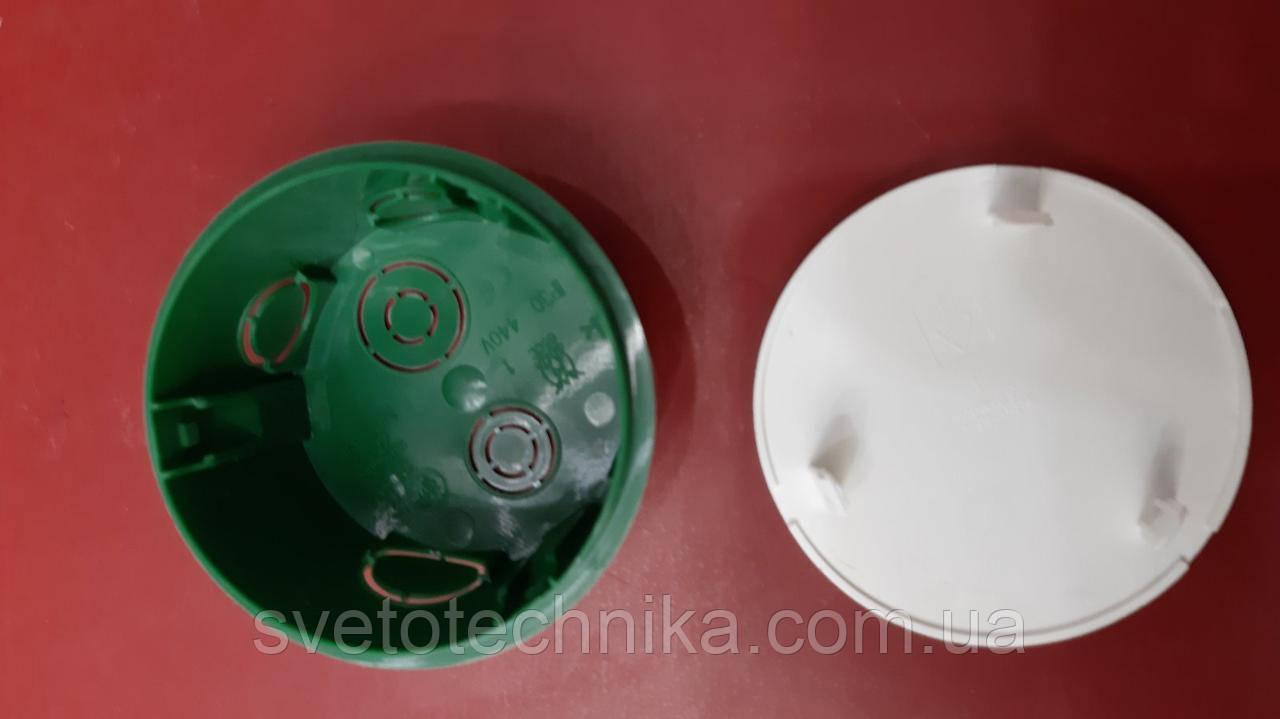 Распределительная коробка Schneder (зеленого цвета 60mm.)