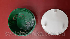 Распределительная коробка Schneder(зеленого цвета 60mm.)