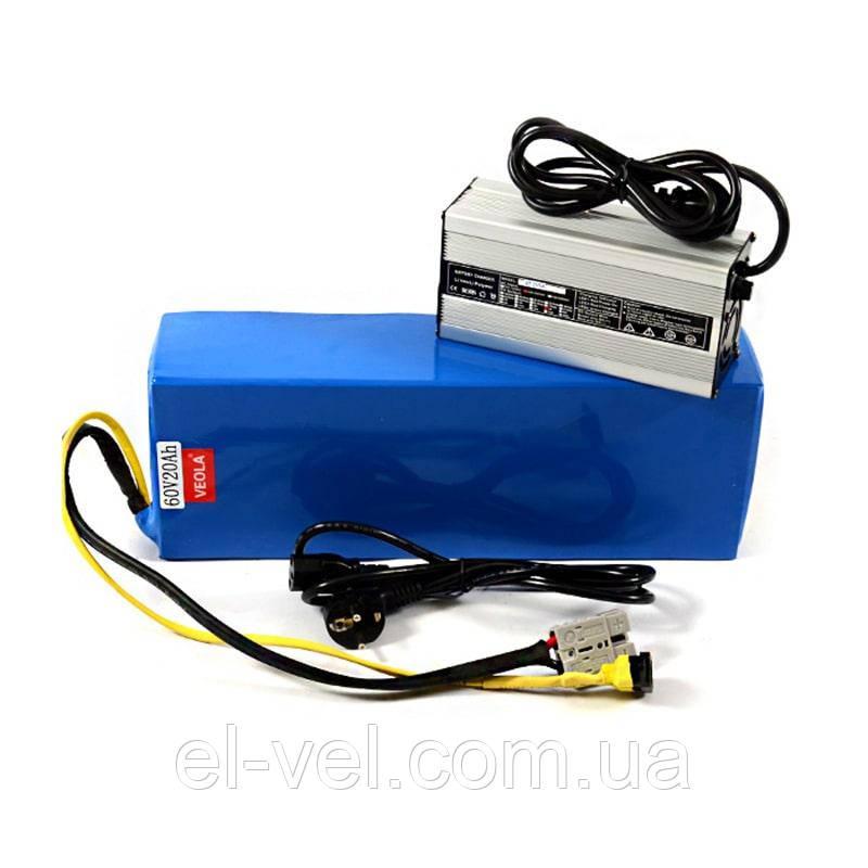 Аккумуляторная батарея 48В 20Aч литиевая (в термоусадке) зарядное 5А