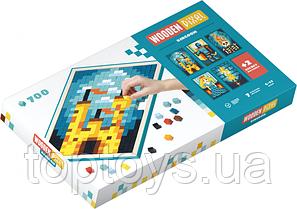 Піксельна мозаїка Cubika Wooden pixel 8 Королівство 700 деталей (14941)