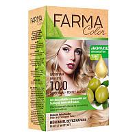 Крем-краска для волос без аммиака Farmasi пр-ва Турция 10.0 Перламутровый блонд - 4,73 ББ / Far - 7090234