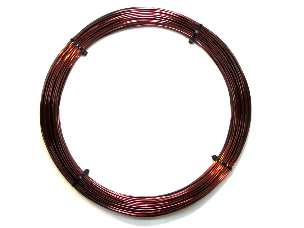 Обмоточный эмальпровод алюминиевый диаметром 1,3 мм, весом 0,25 кг