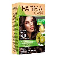 Крем-краска для волос без аммиака Farmasi пр-ва Турция 4.0 Коричневый - 4,73 ББ / Far - 7090228
