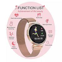Фитнес браслет Смарт часы MC11 женские с измерением давления и пульса