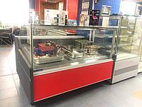 Холодильная витрина гастрономическая GRACIA 1.56 (пласт. боковины)