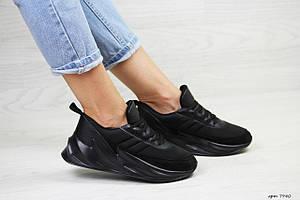 Подростковые модные кроссовки Adidas Sharks,черные