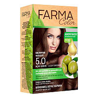 Крем-краска для волос без аммиака Farmasi пр-ва Турция 5.0 Светло-коричневый - 4,73 ББ / Far - 7090229