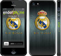 "Чехол на iPhone 5s Real Madrid 3 ""995c-21"""