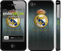 "Чехол на iPhone 4s Real Madrid 3 ""995c-12"""