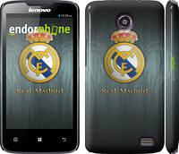 Чехол накладка для Lenovo A820 Real Madrid 3