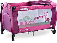 Детская кровать манеж Caretero Medio Purple, фото 1