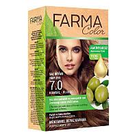 Крем-краска для волос без аммиака Farmasi пр-ва Турция 7.0 Русый - 4,73 ББ / Far - 7090231