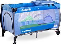 Дитяче ліжко манеж Caretero Medio Blue, фото 1