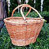 Плетінь кошик з лози