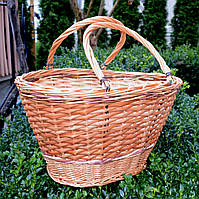 Плетений кошик з лози, фото 1