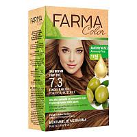 Крем-краска для волос без аммиака Farmasi пр-ва Турция 7.3 Ореховый - 4,73 ББ / Far - 7090237