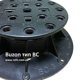 BUZON серія BC - гвинтові опори для терасових покриттів складної геометричної форми