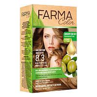Крем-краска для волос без аммиака Farmasi пр-ва Турция 8.3 Медовый - 4,73 ББ / Far - 7090238