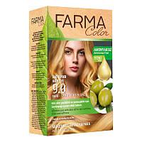 Крем-краска для волос без аммиака Farmasi пр-ва Турция 9.0 Блонд - 4,73 ББ / Far - 7090233