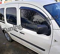 Ветровики, дефлекторы окон Renault Kangoo 2007- (Hic), фото 1