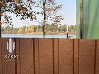 Матовый профнастил для забора, коричневый, профнастил коричневого цвета, RAL 8017, шоколадный PEMA 8017