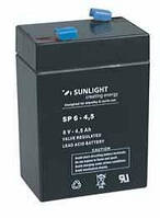 Аккумулятор SUNLIGHT SP6-4,5, 6В 4,5 А*ч