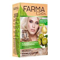 Крем-краска для волос без аммиака Farmasi пр-ва Турция 0.1 Платиновый блонд - 4,73 ББ / Far - 7090235