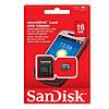 MicroSD флешка для телефона SanDisk microSDHC 16Gb Class 10   карта памяти для телефона
