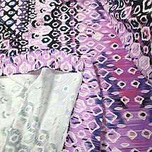 Креп- дайвинг трикотаж принт абстракция РАСПРОДАЖА, фото 2