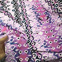 Креп- дайвинг трикотаж принт абстракция РАСПРОДАЖА, фото 3