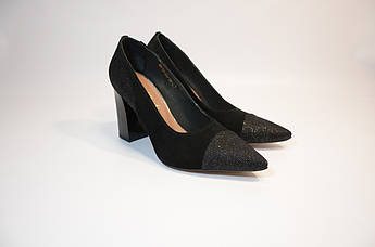Женские черные туфли Mara Mychi, Италия
