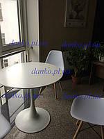 Круглый стол Тюльпан М белый, D60 см от SDM Group
