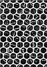 400х275 Керамічна плитка стіна Помпеї 1 тип 1 чорний