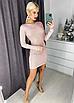 """Шикарное женское вечернее платье с люрексом """"Minor"""", фото 7"""