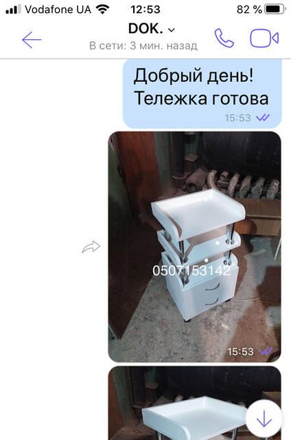 Изготовление тележки V336  Владимиру из Кропивницкого
