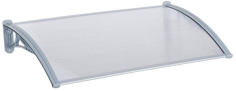 Навес для входных дверей Siker 800-N (800*1200) серый (90100019)