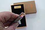 Електроімпульсна USB запальничка в подарунковій упаковці 4876, фото 3