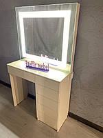 Стол для визажиста со встроенной подсветкой