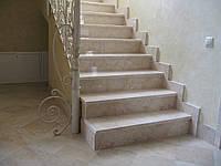 Мраморные ступени изготовление и монтаж
