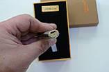 Електроімпульсна USB запальничка в подарунковій упаковці 4876, фото 5
