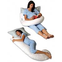 """Подушка для беременных  """"Г-образная 350см"""" длина  160см (варианты наволочек указаны на фото)"""