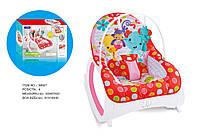 Детский шезлонг-качалка, Fitch Baby, 88927, 2 в1 0-18кг вибрац.мелод.