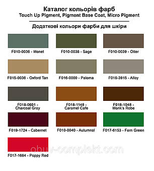 "Фарба для м'якої шкіри 250 мл.""Dr.Leather"" Touch Up Pigment Fern Green, фото 2"