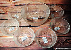 """Набор стеклянных салатников ОСЗ """"Вулкан"""" 6 предметов 13 см (8327), фото 2"""
