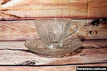 """Набор чайных стеклянных чашек Helios """"Звезда"""" 200 мл (6252), фото 2"""