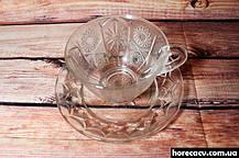 """Набор чайных стеклянных чашек Helios """"Звезда"""" 200 мл (6252), фото 3"""