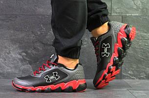 Кроссовки Under Armour Scorpio,серые с красным 43,44